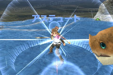 片手剣の戦闘シーン