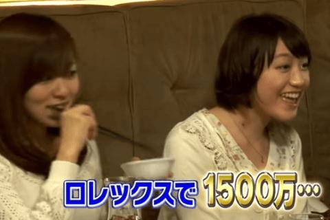 ロレックスで1500万円