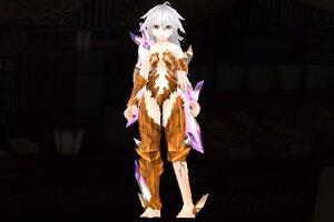 橙1結晶鎧