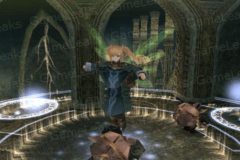 魔導具の戦闘シーン