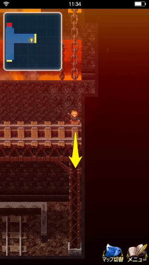 ドワーフの鍛冶場の鍵箱の取り方